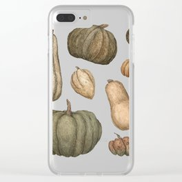Pumpkins and Gourds Clear iPhone Case