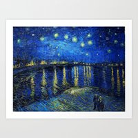 van gogh Art Prints featuring Van Gogh by Palazzo Art Gallery