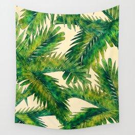 Palms #palm #palms #flower Wall Tapestry