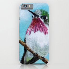 Hummingbird Watch iPhone Case