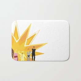 """The Gang"" Bath Mat"