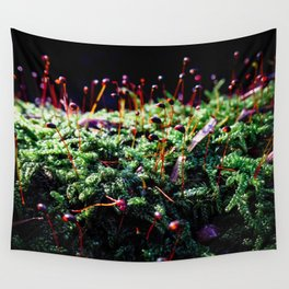Sparkle Spores Wall Tapestry