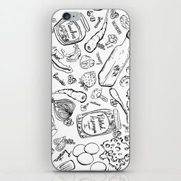 Crazy for Canning iPhone Skin