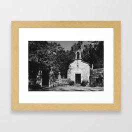 San Tirso de Cando Framed Art Print
