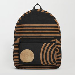 Arches - Minimal Geometric Abstract 2 Backpack