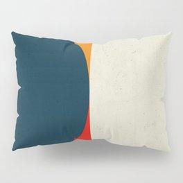 Geometric abstract / half circles Pillow Sham