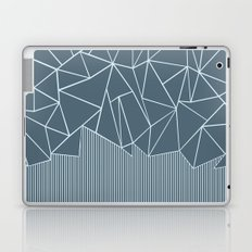 Ab Lines Blues Laptop & iPad Skin