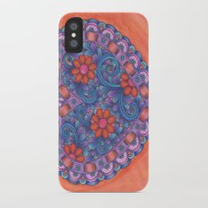 Heart with Ribbon iPhone X Slim Case