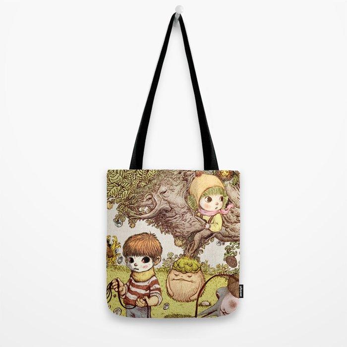 between us Tote Bag