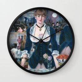Erotic Manet Wall Clock