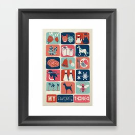 Favorite Things Framed Art Print