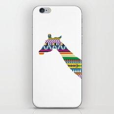 Giraffe with Tribal Pattern iPhone & iPod Skin