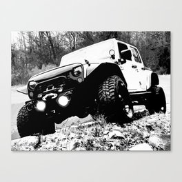 Beefy GP in Black and White Canvas Print