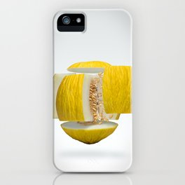 Flying Casaba Melon iPhone Case