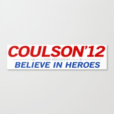 Coulson 2012 Canvas Print