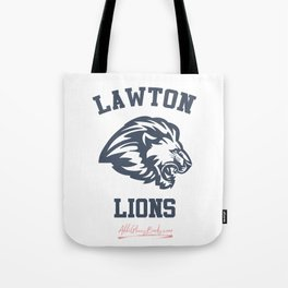 The Field Party - Lawton Lions Tote Bag