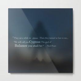 Cygnus X-1 Metal Print