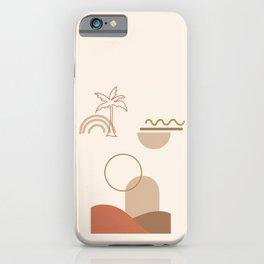 Minimal Dune 02 iPhone Case
