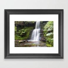 Blaen-y-glyn Waterfall 6 Framed Art Print