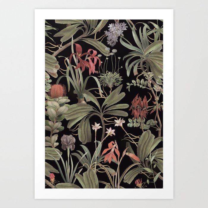 Dark Botanical Stravaganza Kunstdrucke