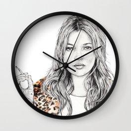 KATE MOSS X SUPREME Wall Clock