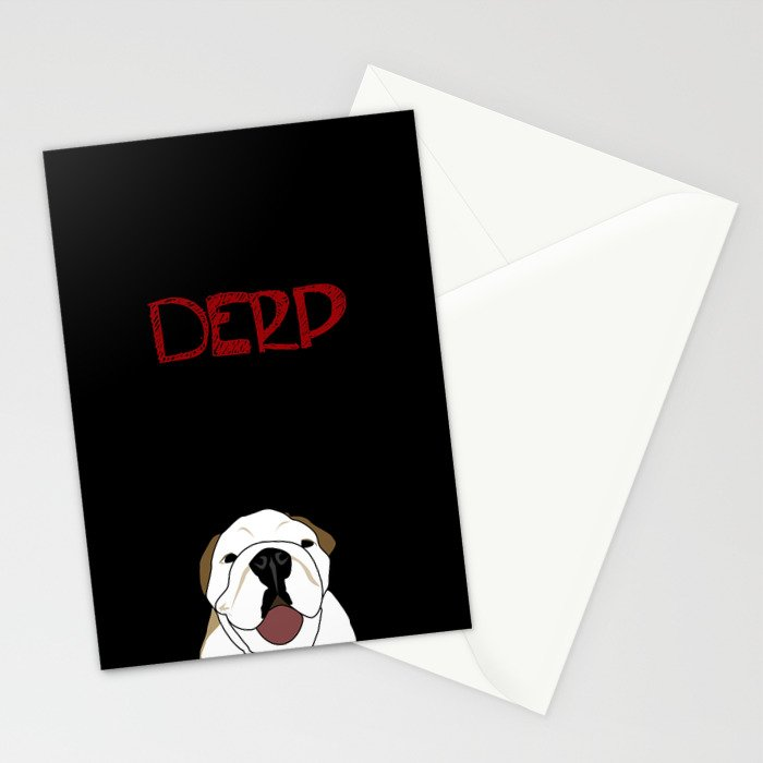 Derp Case Stationery Cards