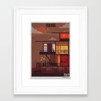 babina Framed Art Prints featuring ARCHINOWHERE 017_study by federico babina
