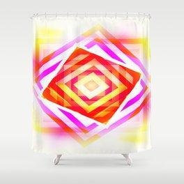 Diamond Layers Shower Curtain