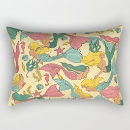 Mermaid Dreams Rectangular Pillow
