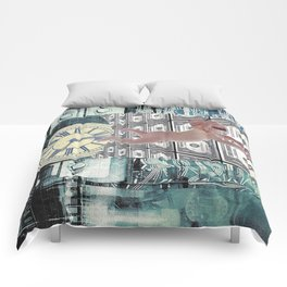 Nightmares in the City of fortune Comforters