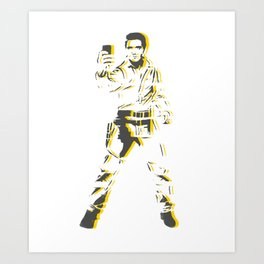 Pop Selfie Art Print