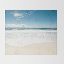 The Voice of Water Throw Blanket