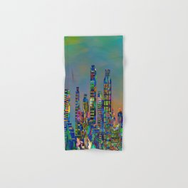 Graffiti City Hand & Bath Towel