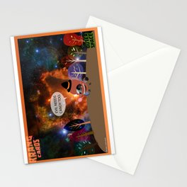 Evil needs candy too. Stationery Cards
