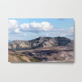 Lake and mountain view near Johnston's Ridge, probably Coldwater Lake and Clearwater Lake Metal Print