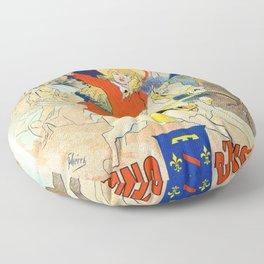 1890 Casino Enghien France Floor Pillow
