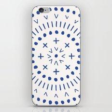 Radial - in Cobalt iPhone & iPod Skin