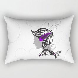 Butterfly Armor Rectangular Pillow