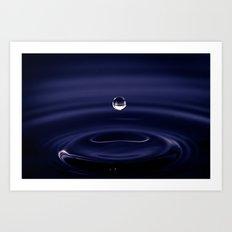 Pre Splash Art Print