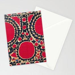 Tashkent Uzbekistan Central Asian Suzani Embroidery Print Stationery Cards