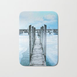 Silver Pier of Lexington Bath Mat