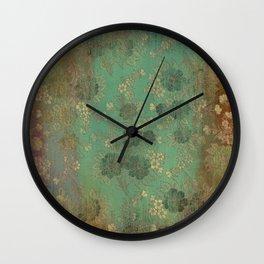 Grenada Floral 1 Wall Clock