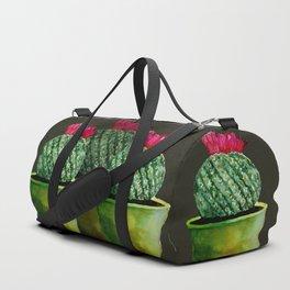 Little green Cactus Duffle Bag