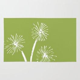 Three Dandelions Rug