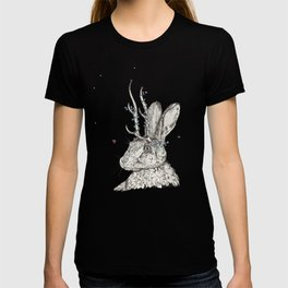 The Jackalope and the Ladybirds at Dawn T-shirt