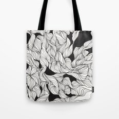Abstract curlicues Tote Bag