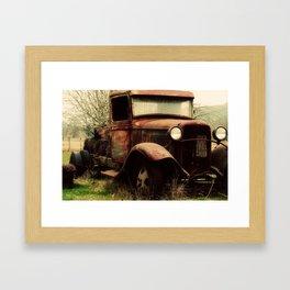 Vintage Ford Framed Art Print