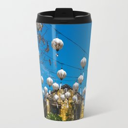 Lanterns in Hoi An, Vietnam Travel Mug
