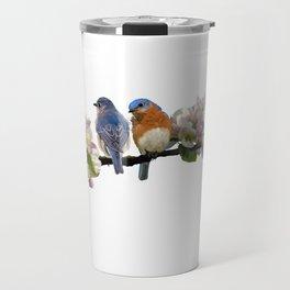 Bluebirds of Happiness Travel Mug