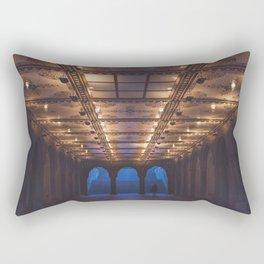 Bethesda Terrace, Central Park  Rectangular Pillow